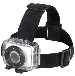 Action Cam Kopfhalterung für Ihre Helmkamera